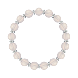 縁(8mm)桜色スターローズクォーツ・水晶(クォーツ)ブレスレット