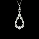 花かずら(6mm)再生する力を高めるホワイトオニキス・翡翠・水晶(クォーツ)ストラップ