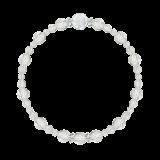 花かずら(6mm)露光色カット水晶・水晶(クォーツ)ブレスレット