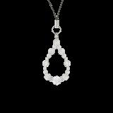 花かずら(6mm)白露色水晶・クォーツストラップ
