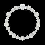 花かずら(8mm)白露色水晶・クォーツブレスレット