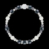 花かずら(6mm)サファイア・ブルームーンストーン・アイオライト・水晶(クォーツ)「長月」9月の誕生石サファイアブレスレット(こよみ月~花かずら6ミリ~)ブレスレット