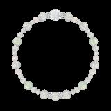 花かずら(6mm)水晶(クォーツ)・グリーンアメジスト・スターローズクォーツ「卯月」4月の誕生石水晶ブレスレット(こよみ月~花かずら6ミリ~)ブレスレット