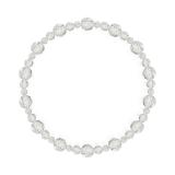 鳳凰(6mm)露光色カット水晶・水晶(クォーツ)ブレスレット