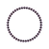 純真(4mm)京紫色チャロアイトブレスレット