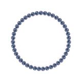 純真(4mm)群青色カイヤナイトブレスレット