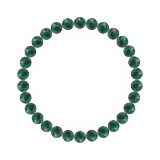 純真(6mm)緑青色アズロマラカイトブレスレット