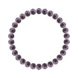 純真(6mm)京紫色チャロアイトブレスレット