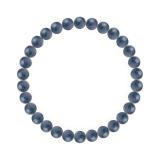 純真(6mm)群青色カイヤナイトブレスレット
