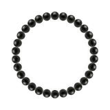 純真(6mm)黒色オニキスブレスレット