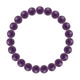 純真(8mm)紫色アメジストブレスレット