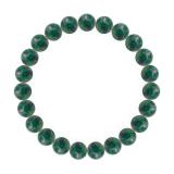 純真(8mm)緑青色アズロマラカイトブレスレット