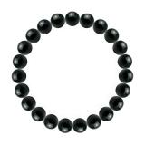 純真(8mm)漆黒色ブラックトルマリンブレスレット