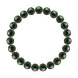純真(8mm)千歳緑色ブラッドストーンブレスレット