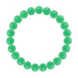 純真(8mm)若緑色クリソプレーズブレスレット