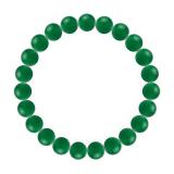 純真(8mm)緑色グリーンメノウブレスレット