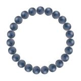 純真(8mm)群青色カイヤナイトブレスレット