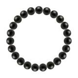 純真(8mm)黒色オニキスブレスレット
