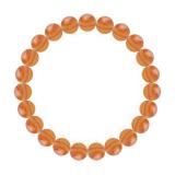 純真(8mm)橙色サードオニキスブレスレット